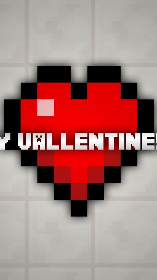 Minecraft Happy Valentine8217s Day   Galaxy Note HD Wallpaper