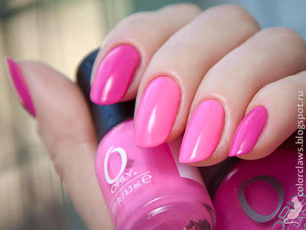 Orly Basket Case + Fancy Fuchsia
