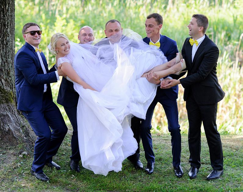 crazy vestuvinė fotosesija