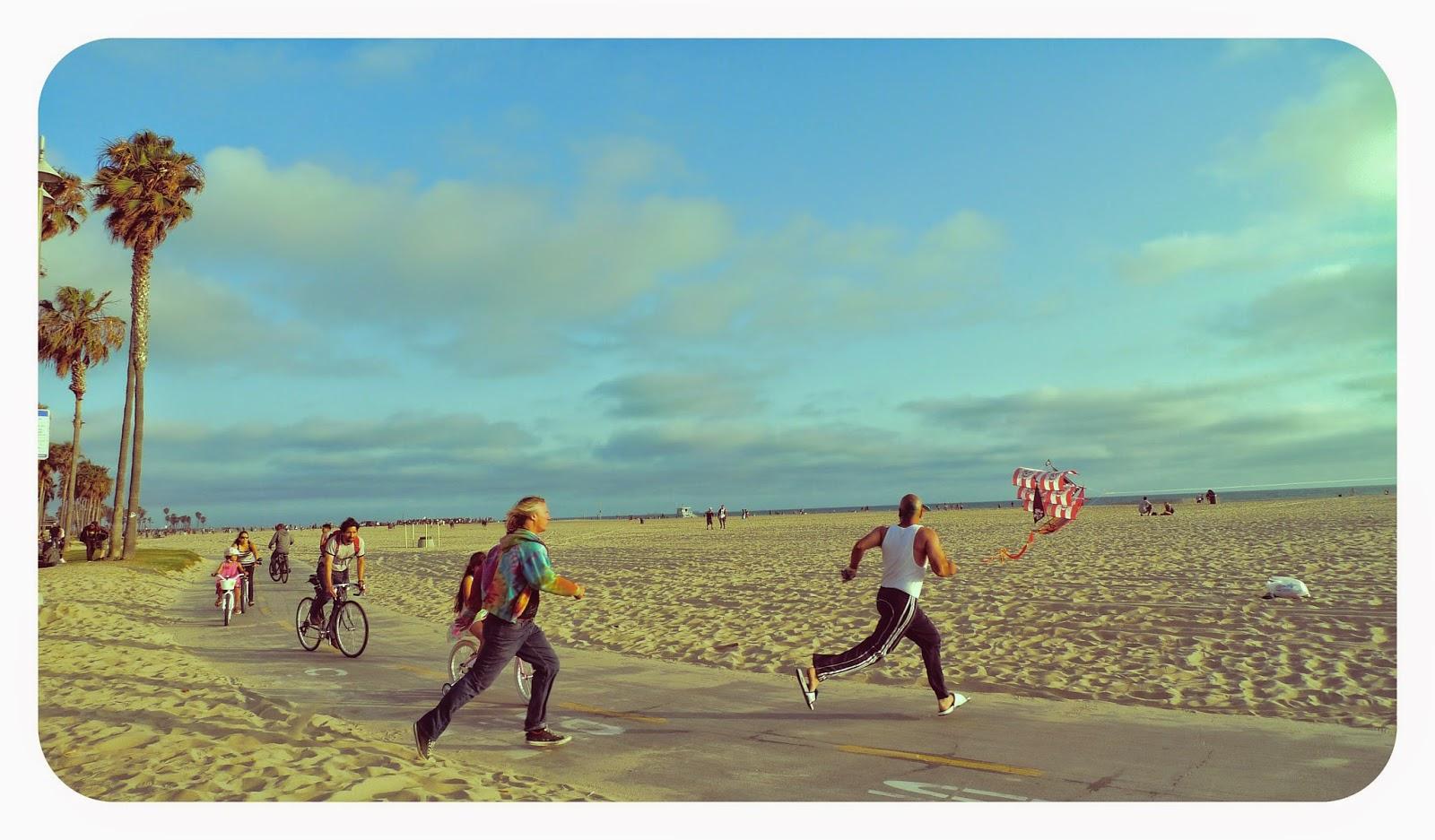 Playa de Santa Mónica, en Los Ángeles