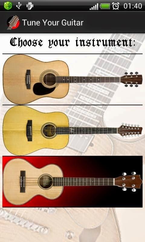 Cara Stem Gitar Menggunakan Android