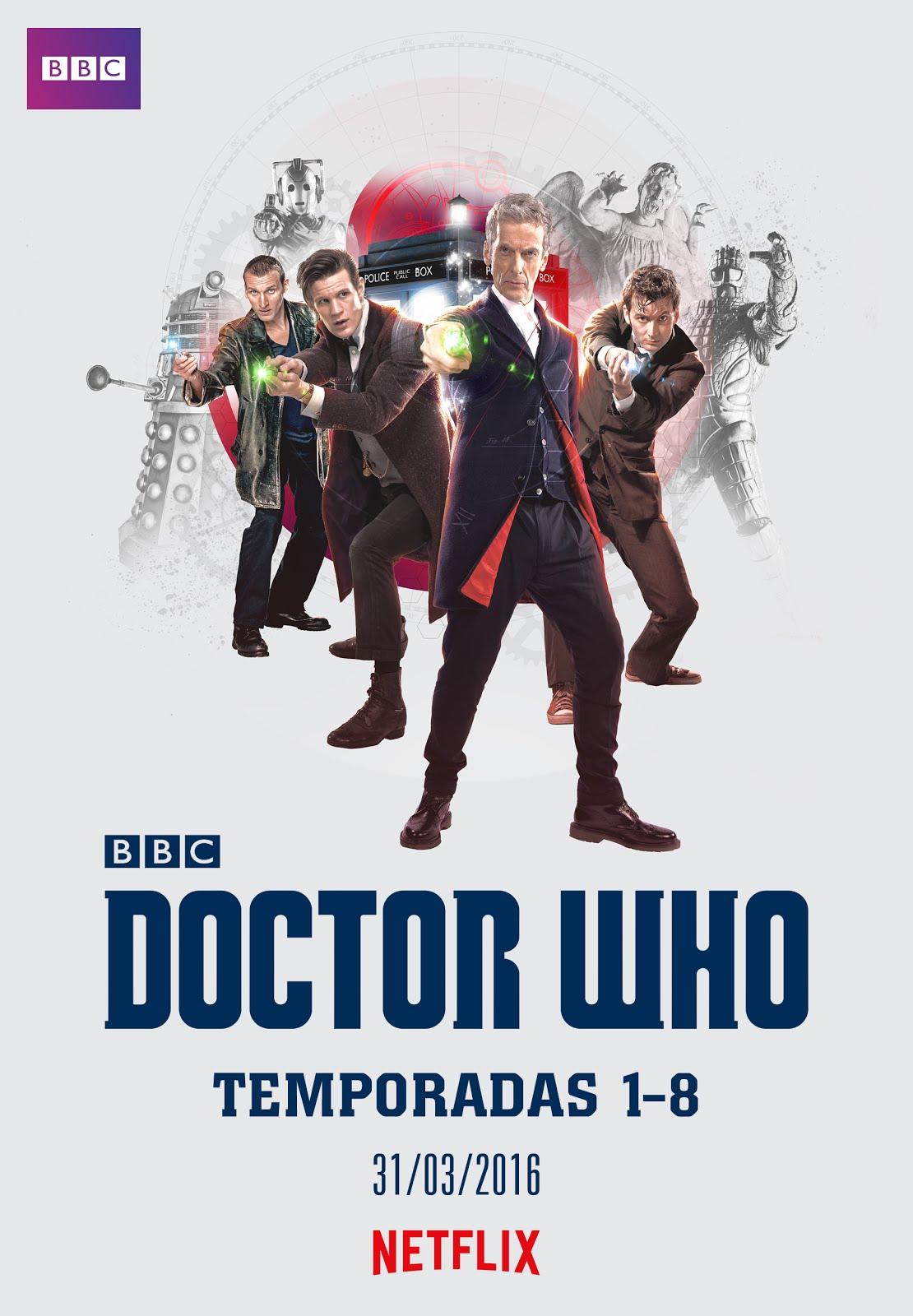 ¡DOCTOR WHO EN NETFLIX ESPAÑA!