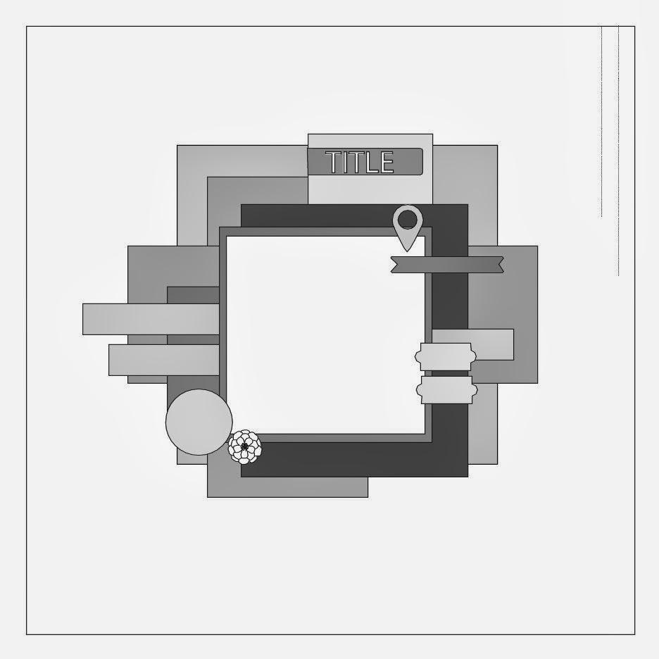 Scrap 365 Sketch March 2014