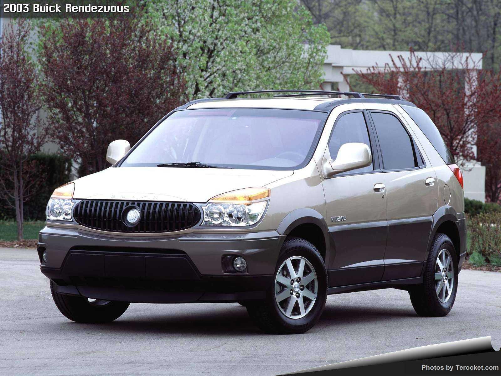 Hình ảnh xe ô tô Buick Rendezvous 2003 & nội ngoại thất