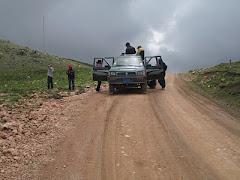 Mazqueta - Punto más alto de la ruta   Llantas Bajas (S.O.S.),  Se viene la lluvia.....