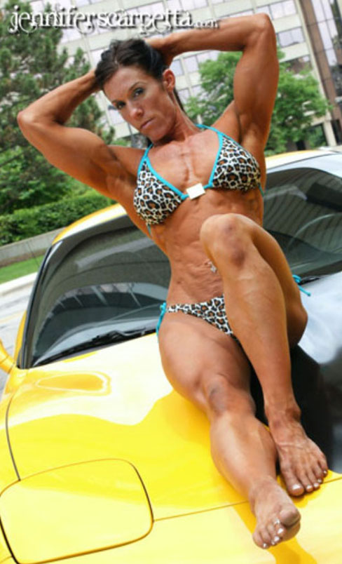 Jennifer Scarpetta Female Muscle Pic Of The Week Bodybuilding Blog