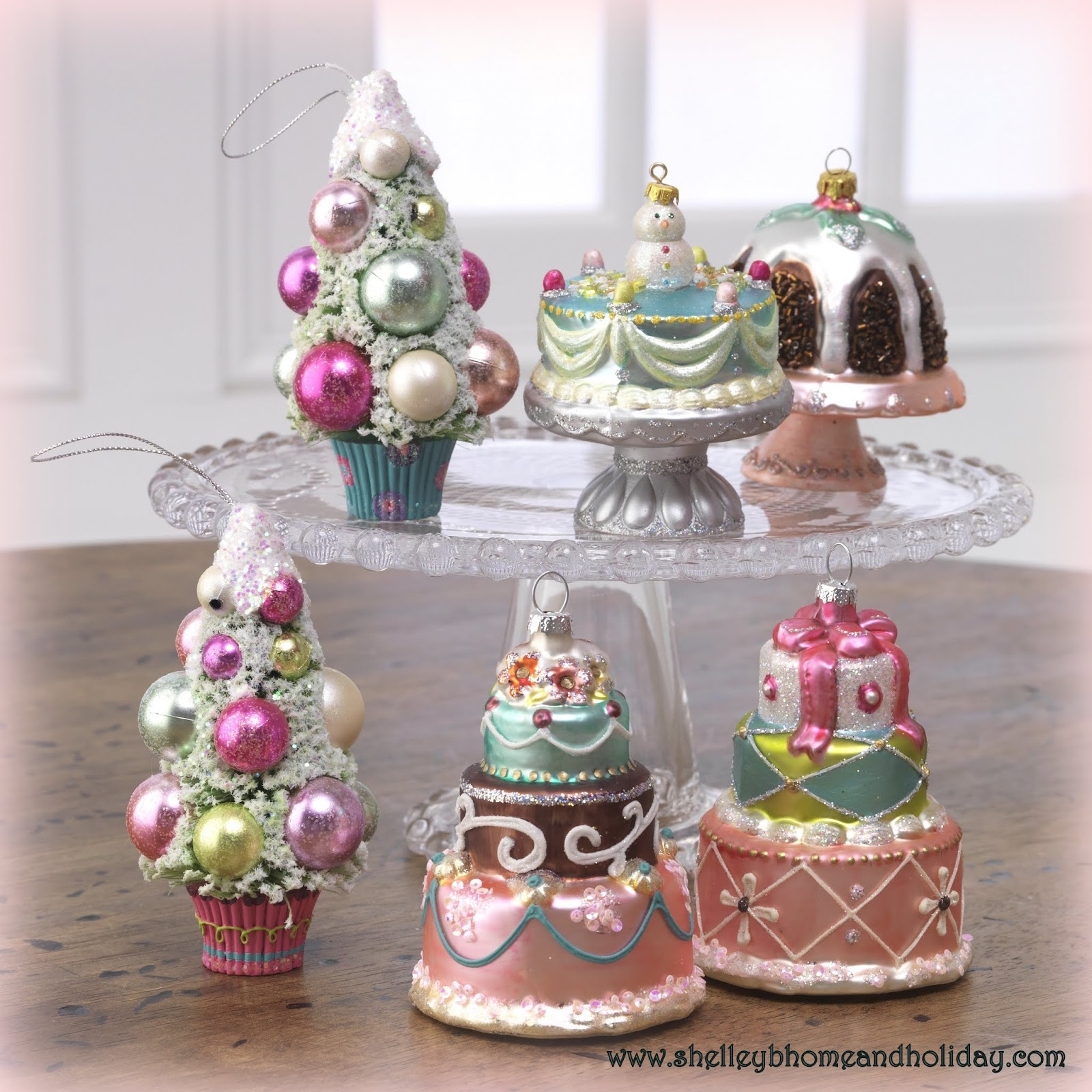 here is a link to our raz french candy collection - Candy Christmas Ornaments