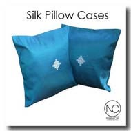 Thai Silk Pillow Cases