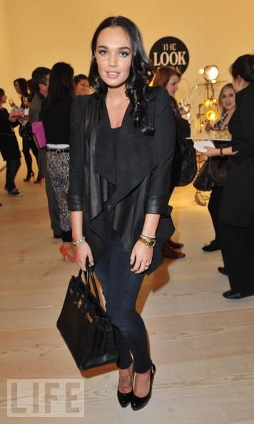 celine black and white luggage bag - tamara-ecclestone-gallery.jpg