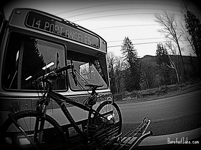 Olympic National Park bus bike
