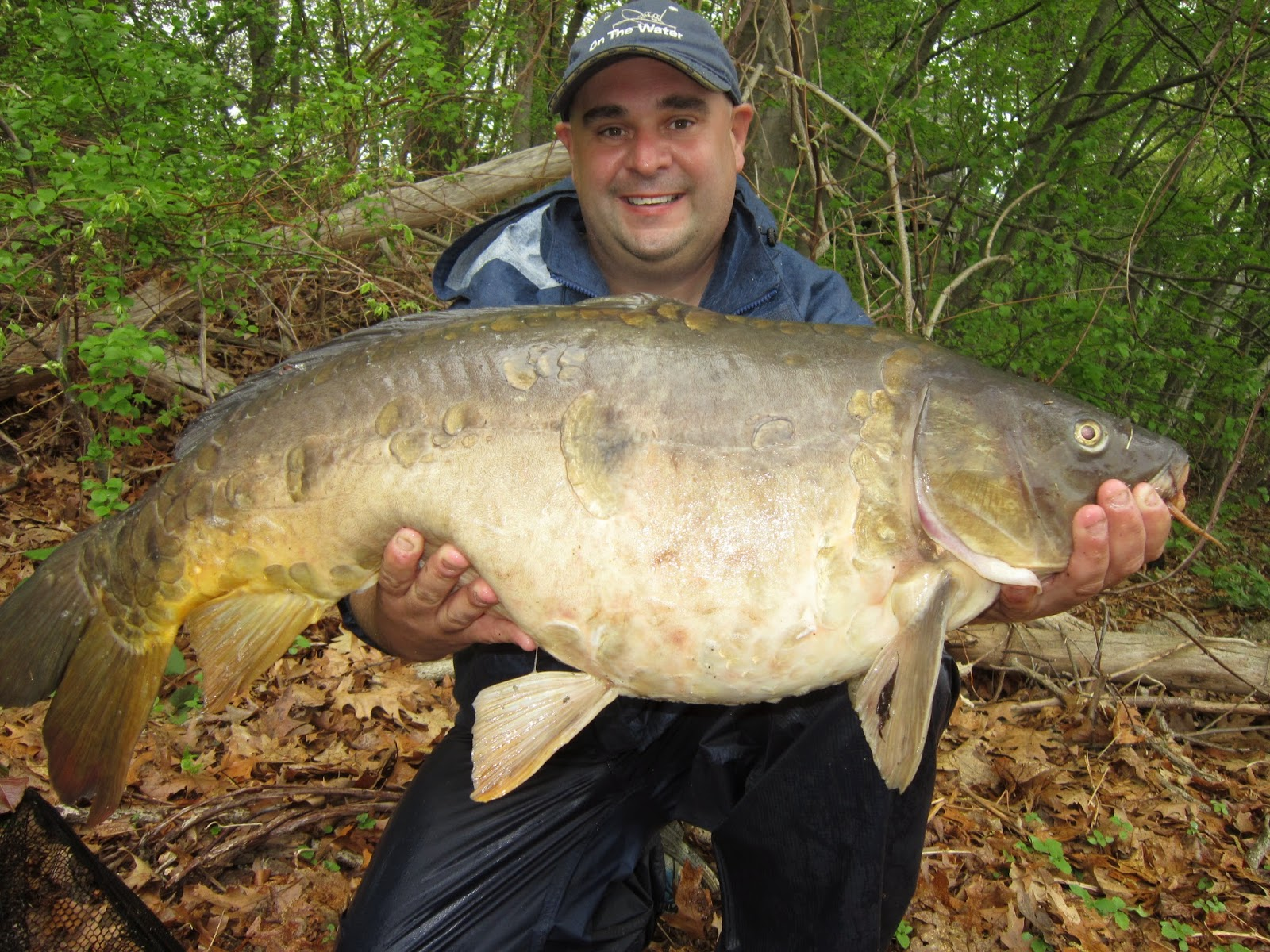 Twenty eight pound carp