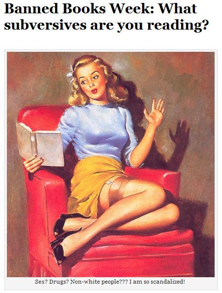 Banned Books Week September 27-October 3, 2015
