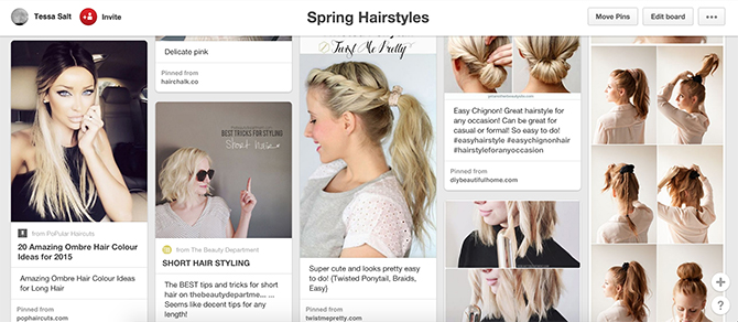 cute spring summer hairstyles pinterest