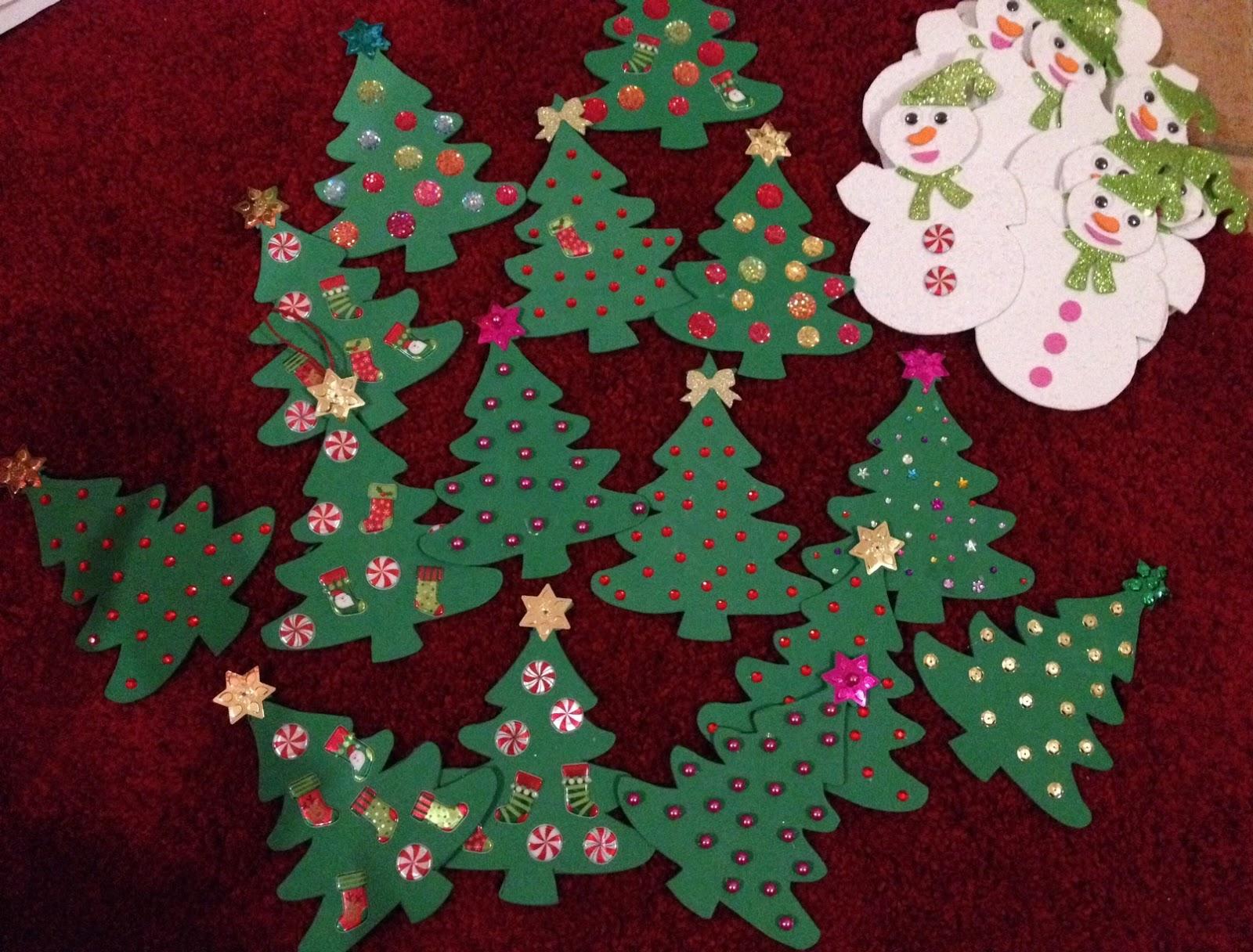 Sagome Di Natale Per Decorazioni E Lavoretti T