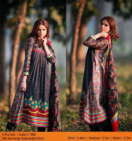 WardaPrintsFall WinterCollection2014 2015VOL2 wwwfashionhuntworldblogspotcom 007 - Winter Collection 2014  By Warda Prints vol  2
