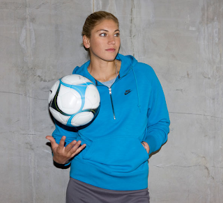 Hope Solo American Goal Keeper