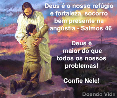 Angústia, Deus é o refúgio...