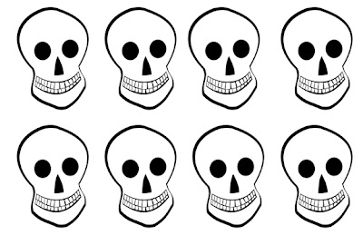Pumpkin Skeleton Head Cut Out Template Picturesso