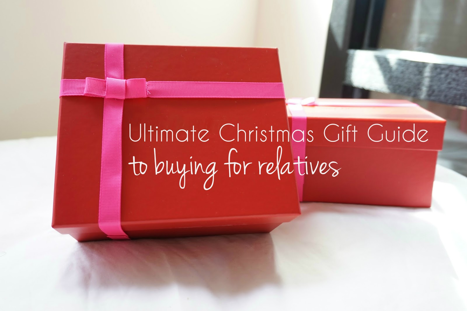 ultimate christmas gift guide for buying for difficult relatives family members presents