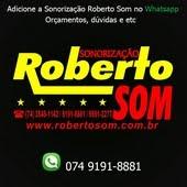 SONORIZAÇÃO ROBERTO SOM