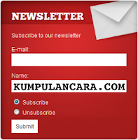 Plugin Newsletter gratis untuk WordPress