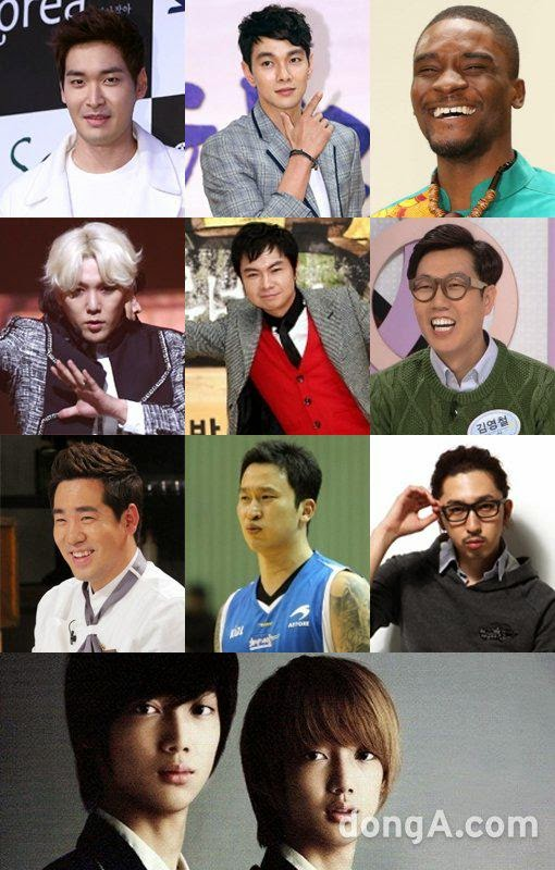 Kangin, Sleepy, Sam Kim, & more added to 11 members of 'Real Men 2′