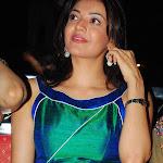 Kajal Agarwal in Silky Green Dress Cute Pics