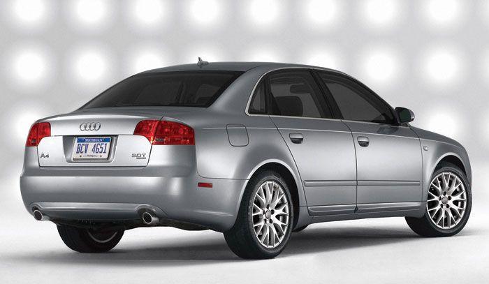 Audi A4 Ficha T�cnica