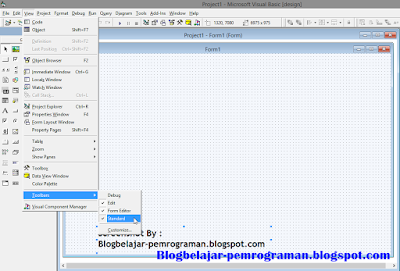 TOOL BAR VISUAL BASIC 6.0 DAN FUNGSINYA