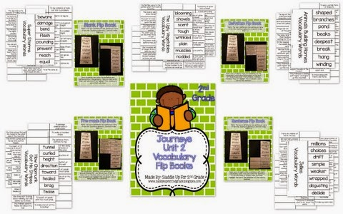 Journeys Vocabulary Flip Book: Unit 2 2nd Grade By Saddle Up For 2nd Grade