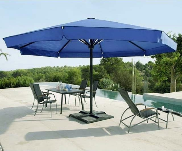 picture of large patio umbrella for comfort outdoor patio