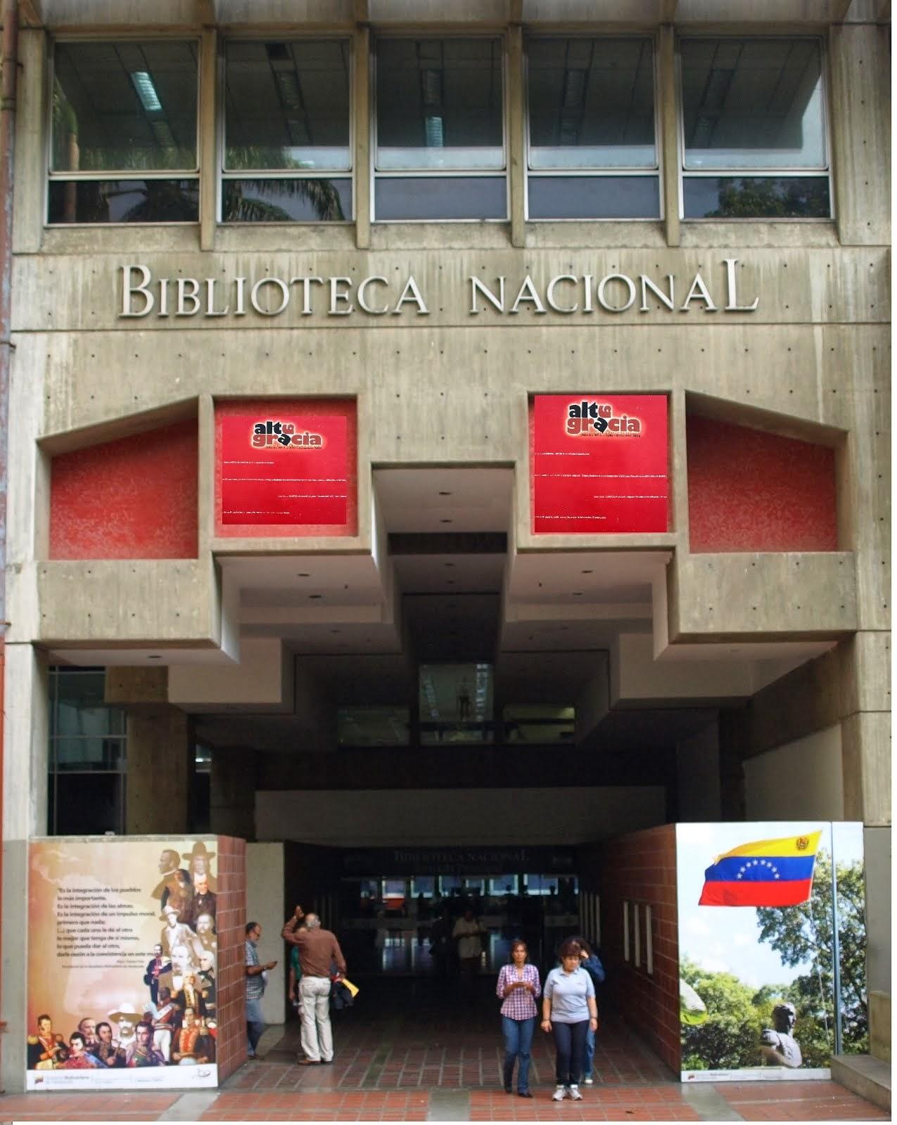 Altagracia revista cultural de la Biblioteca Nacional