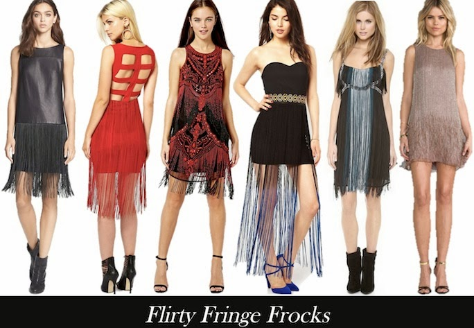 shop fringed dresses