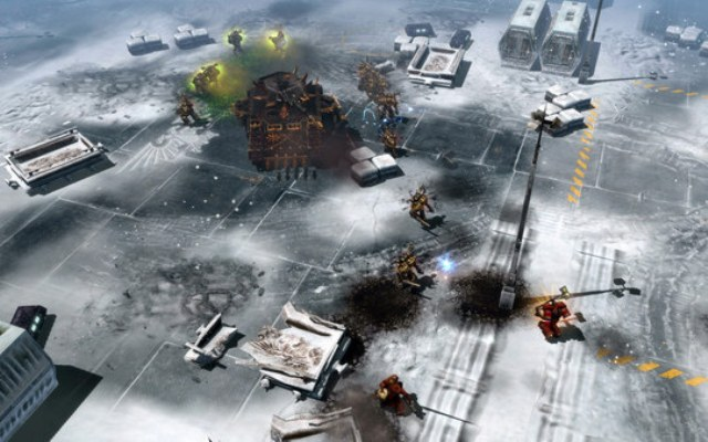 Warhammer 40k Dawn of War 2 Chaos Rising Gameplay