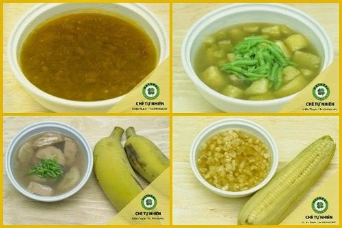 Chè Tự Nhiên - Quán chè sạch hấp dẫn người sành ăn Hà Nội  1