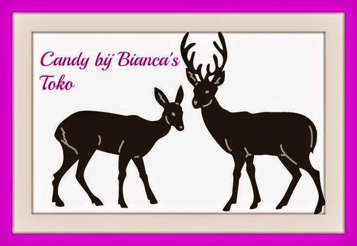 Candy bij 50 volgers bij Bianca
