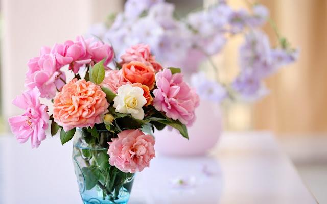 Arreglo de Flores de Colores Imágenes de Flores para San Valentin
