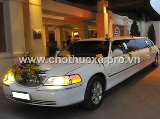 Cho thuê xe cưới Lincoln Limosine rẻ nhất tại Hà Nội