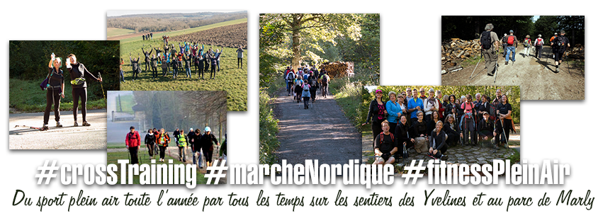 Marche Nordique & Cross-training plein air / Marly-le-roi