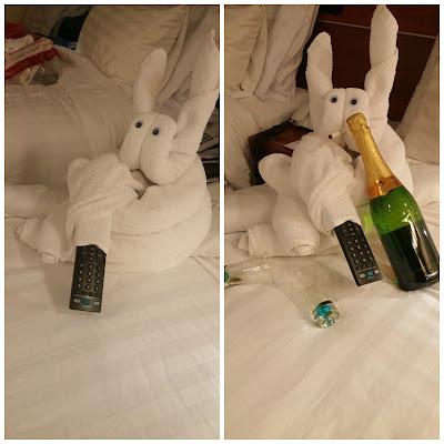 Bunny Towel Creature