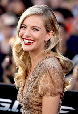 Sienna Miller Star Dangle Earring