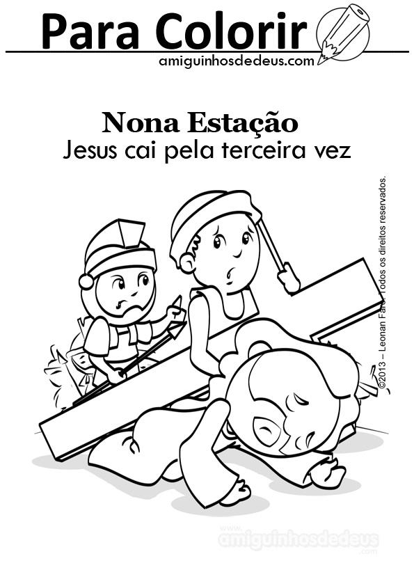 via sacra desenho