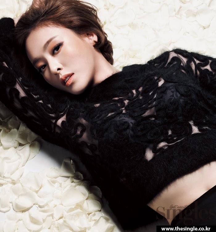 Lee Da Hee - Esquire January 2014