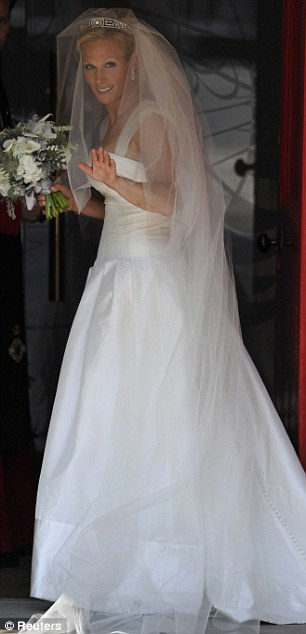 Matrimonio Zara Phillips : La corte reale matrimonio di zara phillips e mike tindall
