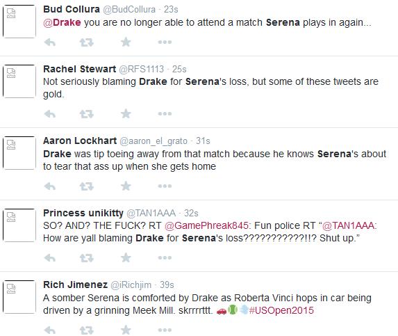 Serena and Drake relationship