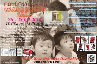 LittleWhiz.com Warehouse Sale 2012