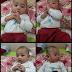 Perkembangan adik faris menjelang usia 4 bulan