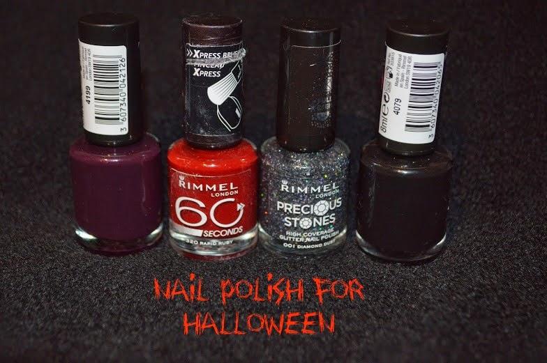Rocky Horror Halloween Magenta Fancy Dress Rimmel Goth Nail Polish