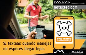 El uso del celular al volante incrementa el riesgo de accidentes