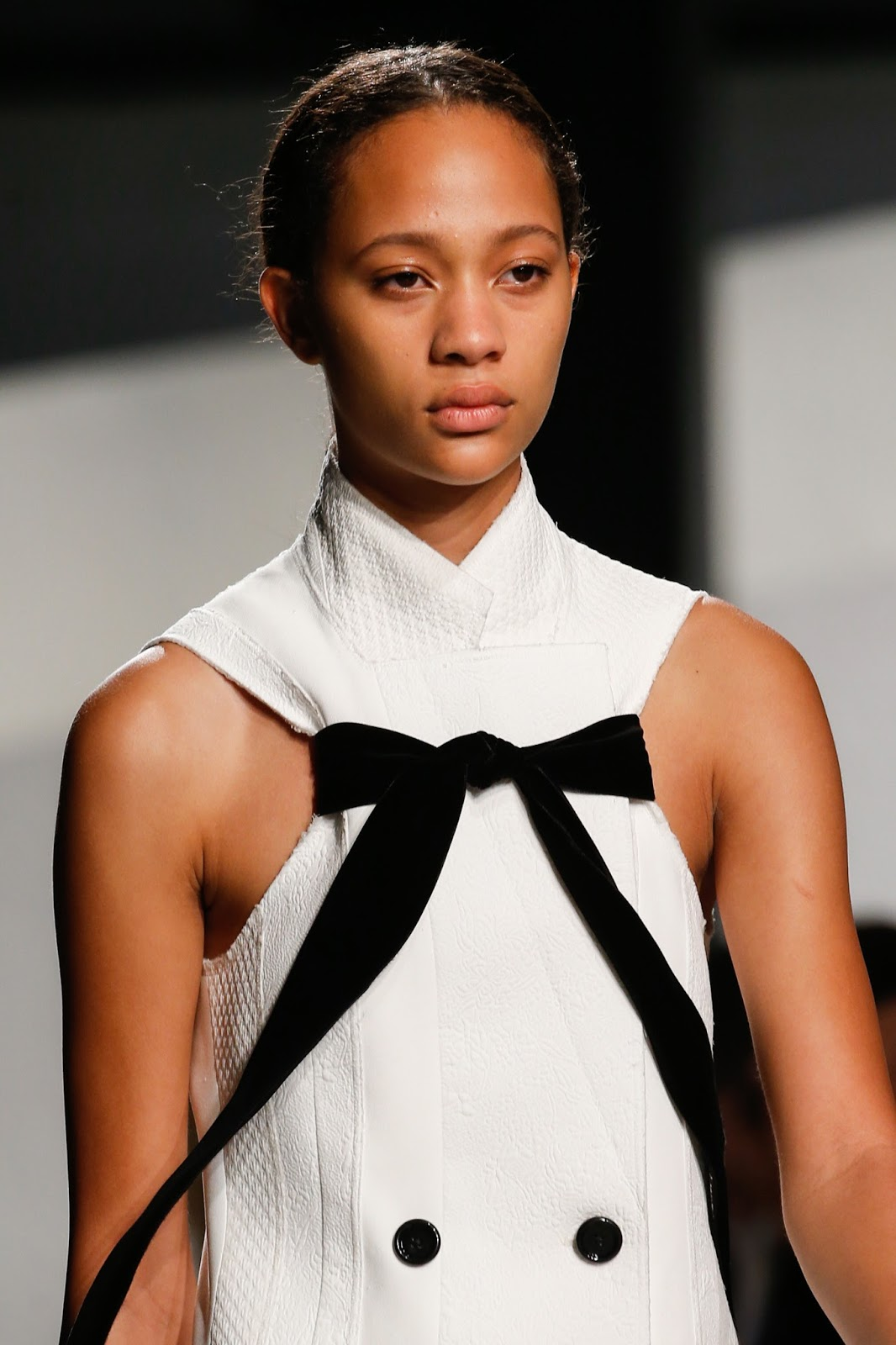 Spring/Summer 2016 trend report /Proenza Schouler SS16 / ribbons & bows via www.fashionedbylove.co.uk